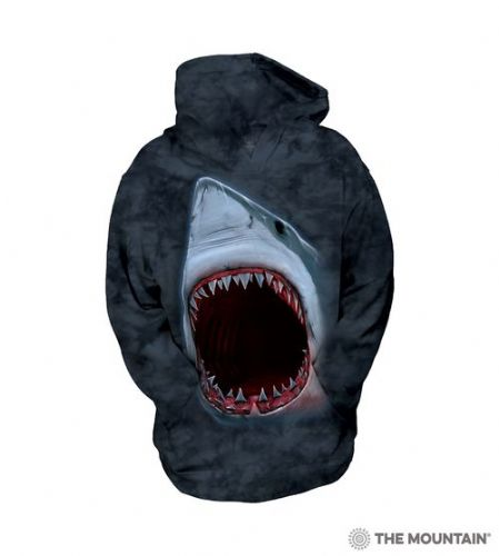 Kids Hoodies - Shark Bite - The Mountain®